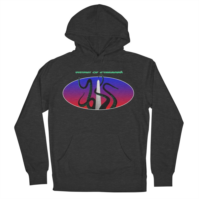 Washington Monument Tentacles Women's French Terry Pullover Hoody by Mightywombat's Artist Shop