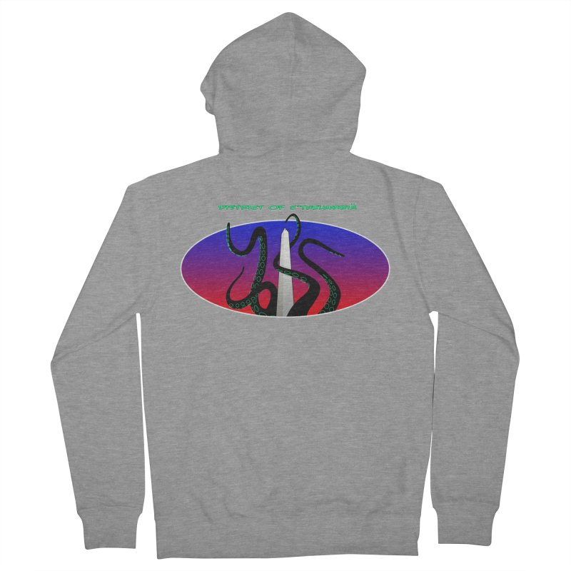 Washington Monument Tentacles Women's Zip-Up Hoody by mightywombat's Artist Shop