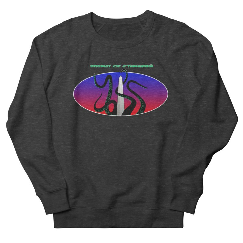 Washington Monument Tentacles Men's French Terry Sweatshirt by Mightywombat's Artist Shop