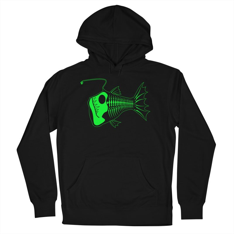 Angler Fish Women's French Terry Pullover Hoody by Mightywombat's Artist Shop