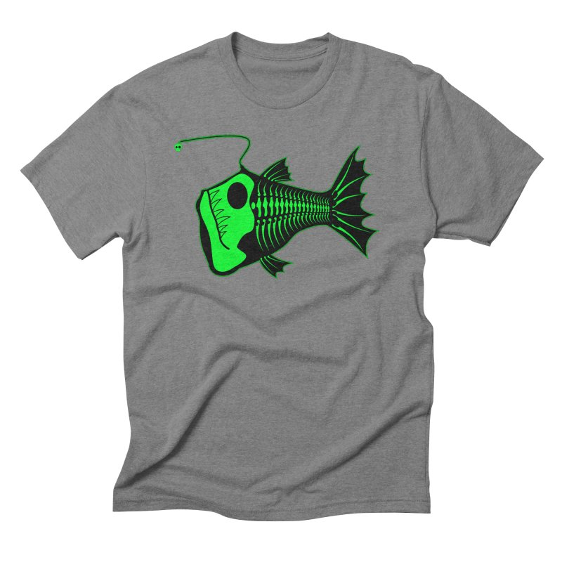 Angler Fish Men's Triblend T-shirt by mightywombat's Artist Shop