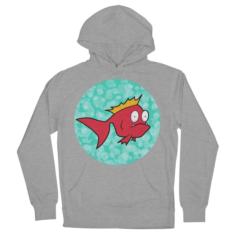 Concerned fish Men's Pullover Hoody by Mightywombat's Artist Shop