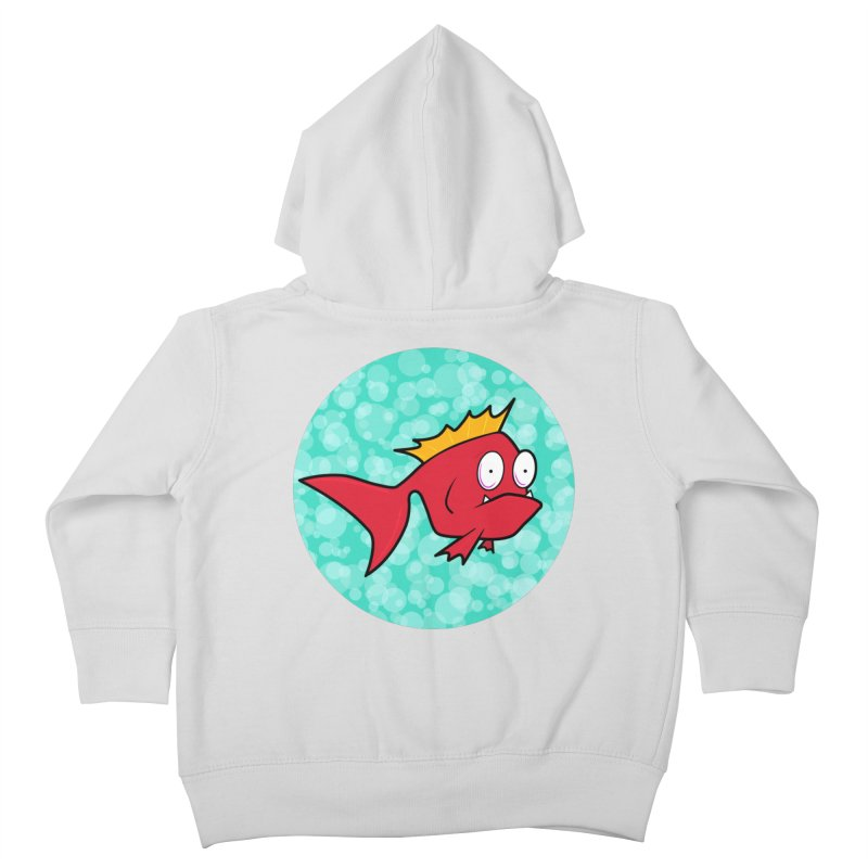 Concerned fish Kids Toddler Zip-Up Hoody by mightywombat's Artist Shop
