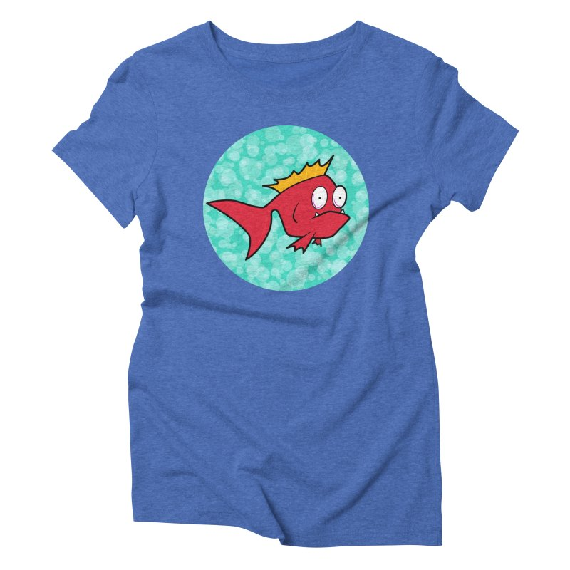 Concerned fish Women's Triblend T-Shirt by Mightywombat's Artist Shop