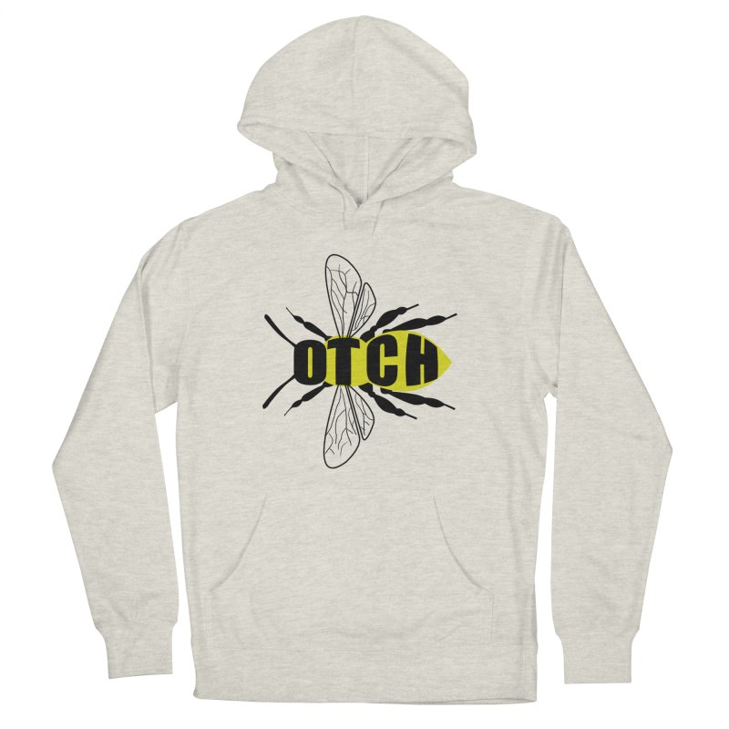 Beeotch in Women's Pullover Hoody Heather Oatmeal by Mightywombat's Artist Shop