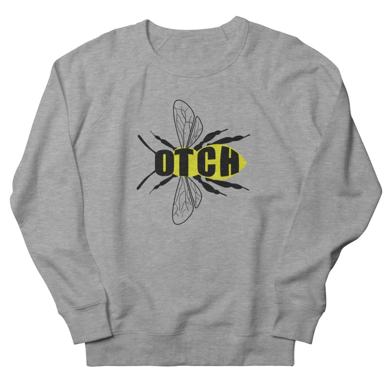 Beeotch Men's French Terry Sweatshirt by Mightywombat's Artist Shop