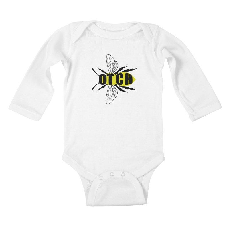 Beeotch Kids Baby Longsleeve Bodysuit by Mightywombat's Artist Shop
