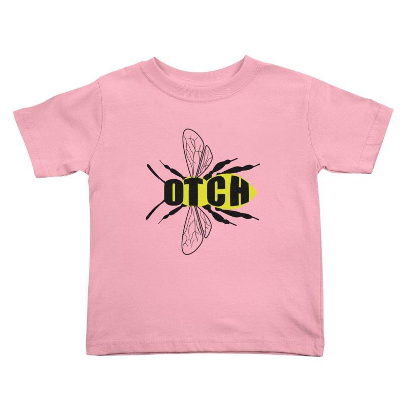 Beeotch Kids Toddler T-Shirt by mightywombat's Artist Shop