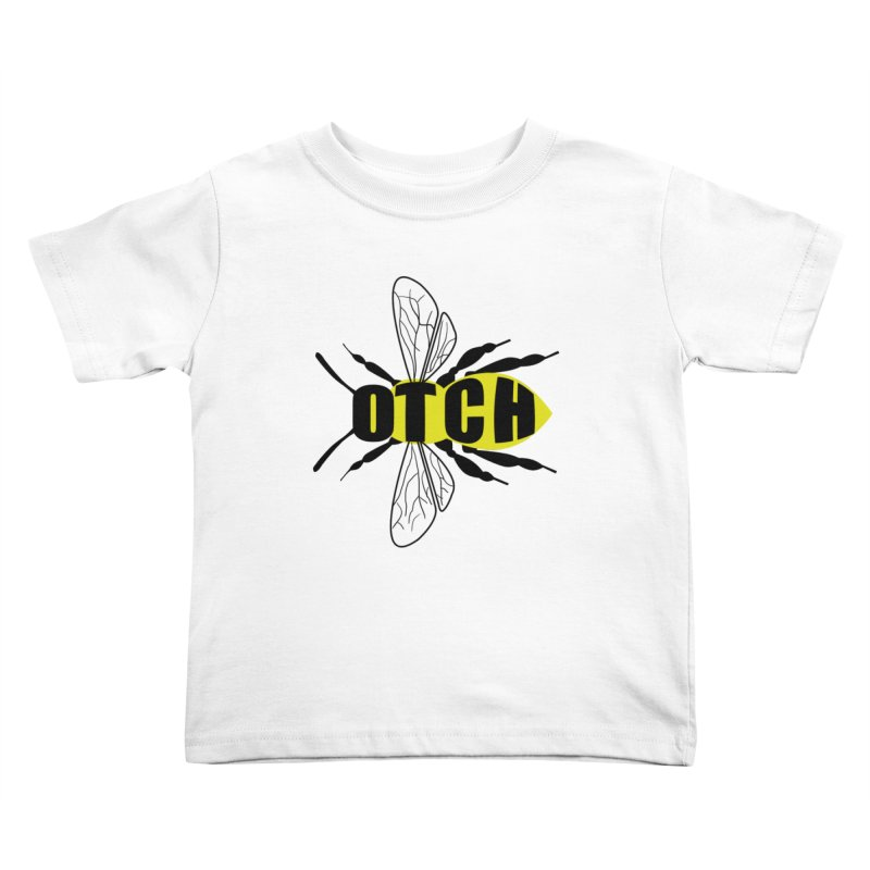 Beeotch Kids Toddler T-Shirt by Mightywombat's Artist Shop