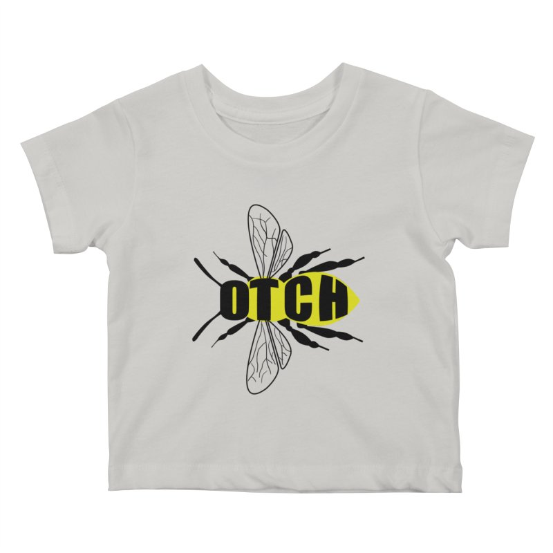 Beeotch Kids Baby T-Shirt by Mightywombat's Artist Shop