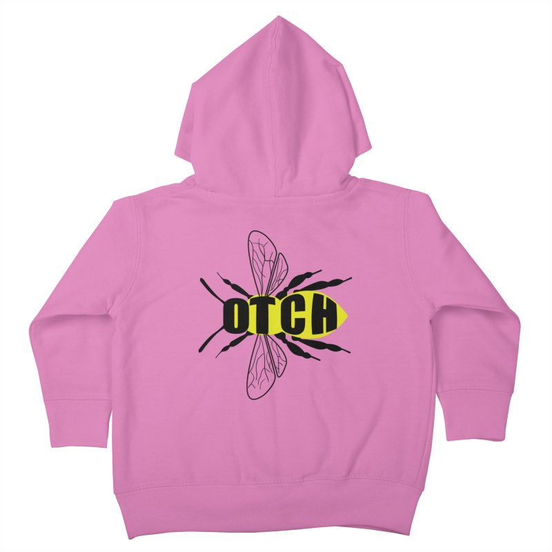 Beeotch Kids Toddler Zip-Up Hoody by Mightywombat's Artist Shop