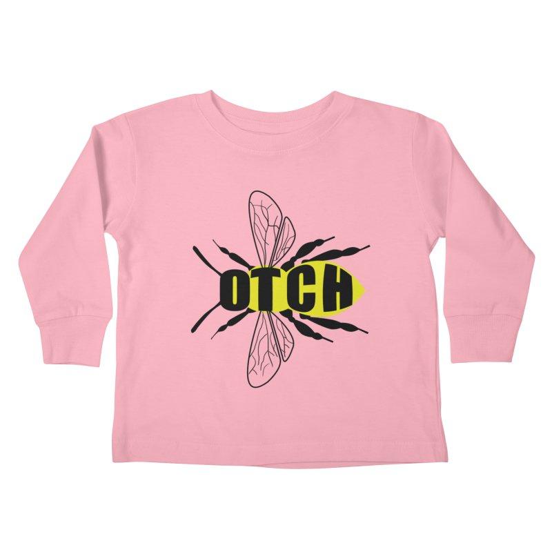 Beeotch Kids Toddler Longsleeve T-Shirt by Mightywombat's Artist Shop