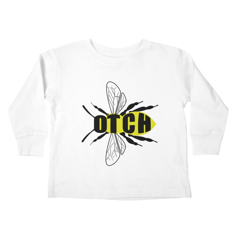 Beeotch Kids Toddler Longsleeve T-Shirt by Mightywombat's Artist Shop