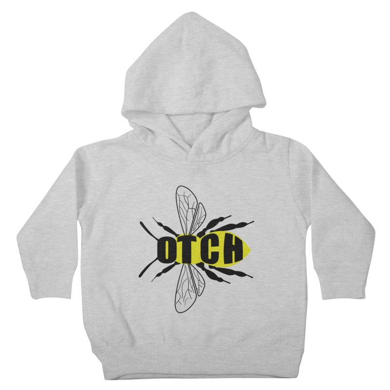 Beeotch Kids Toddler Pullover Hoody by Mightywombat's Artist Shop