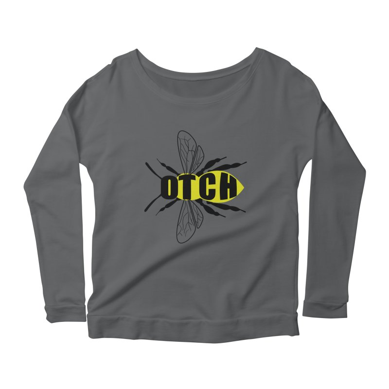 Beeotch Women's Scoop Neck Longsleeve T-Shirt by Mightywombat's Artist Shop
