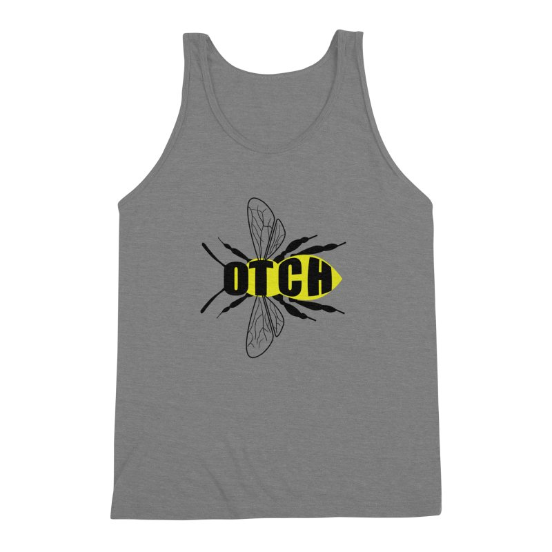 Beeotch Men's Triblend Tank by mightywombat's Artist Shop