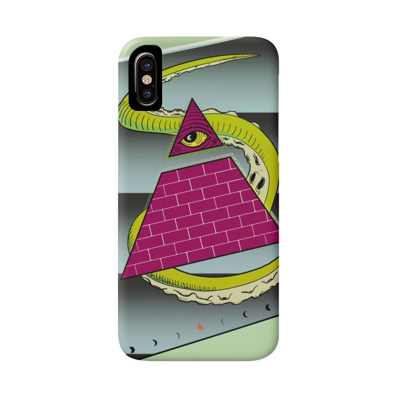 Illuminati Juice Box Accessories Phone Case by Mightywombat's Artist Shop