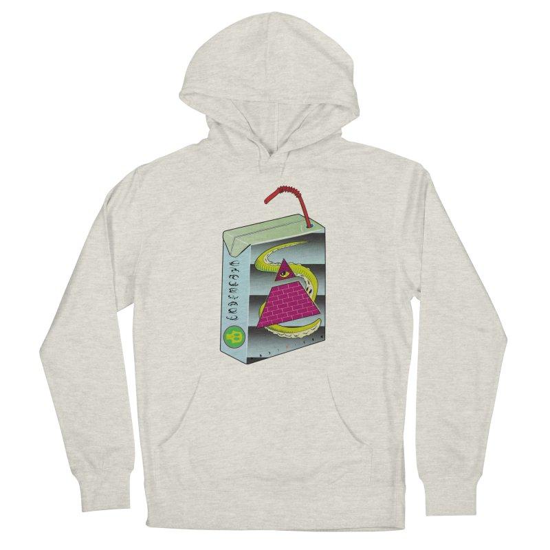 Illuminati Juice Box Women's French Terry Pullover Hoody by Mightywombat's Artist Shop