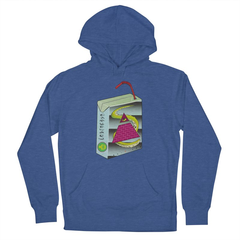 Illuminati Juice Box Men's Pullover Hoody by Mightywombat's Artist Shop