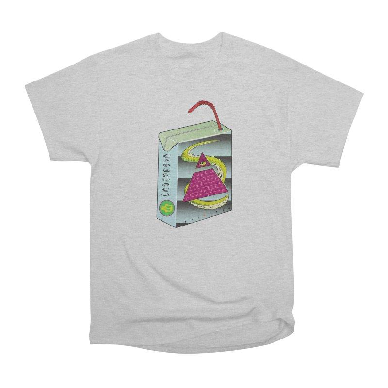 Illuminati Juice Box Men's Heavyweight T-Shirt by Mightywombat's Artist Shop