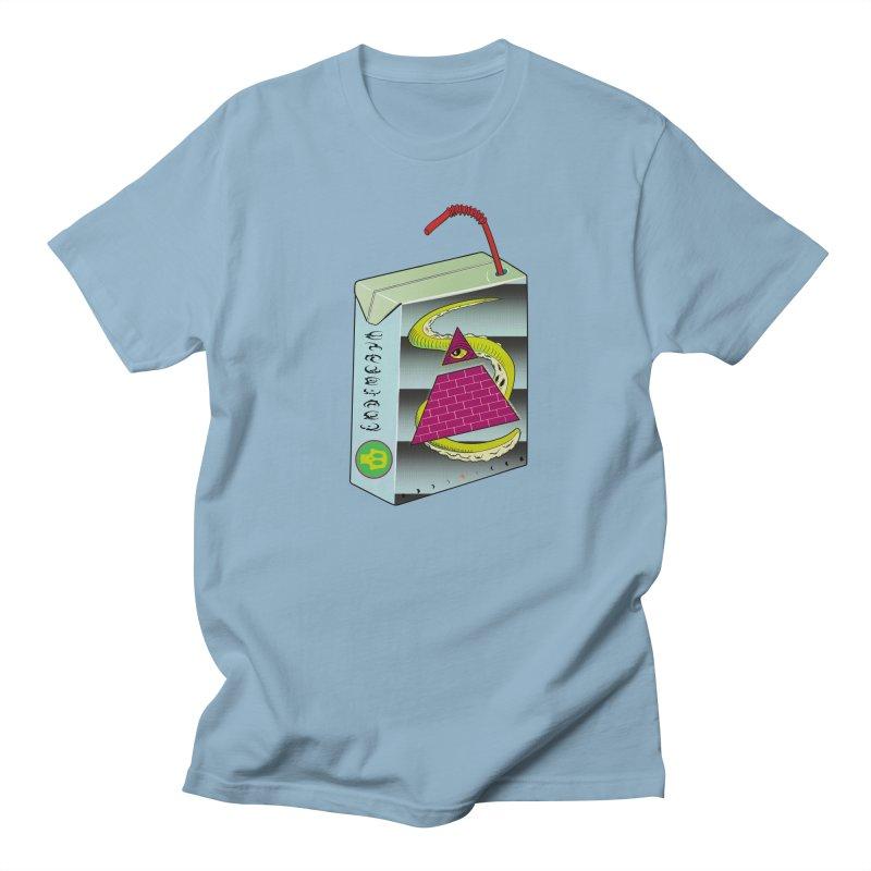 Illuminati Juice Box Women's Unisex T-Shirt by Mightywombat's Artist Shop