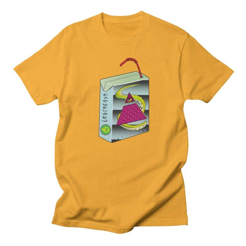 Illuminati Juice Box Women's Regular Unisex T-Shirt by Mightywombat's Artist Shop