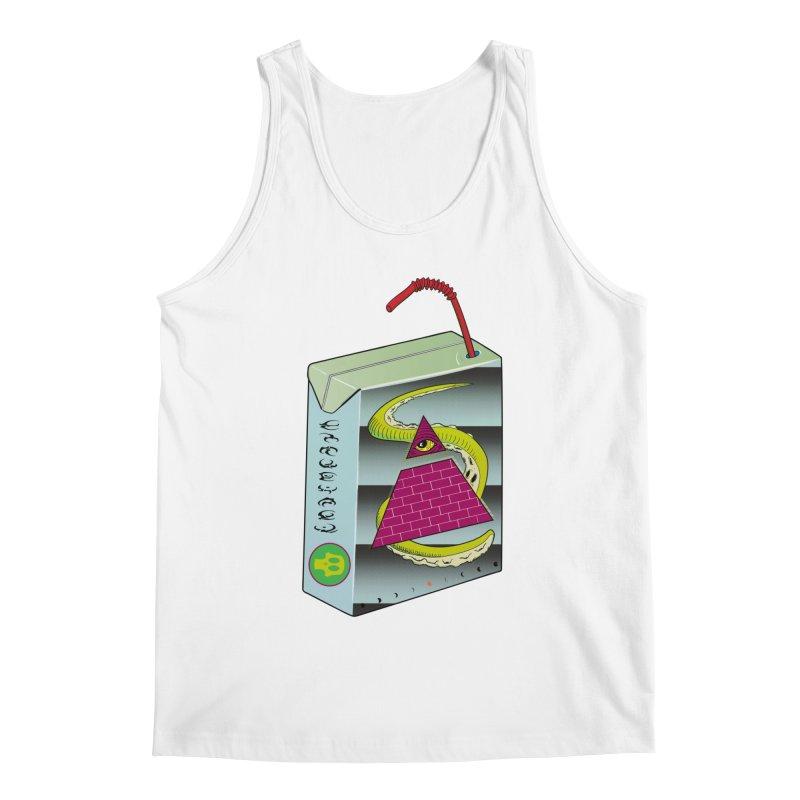 Illuminati Juice Box Men's Regular Tank by Mightywombat's Artist Shop