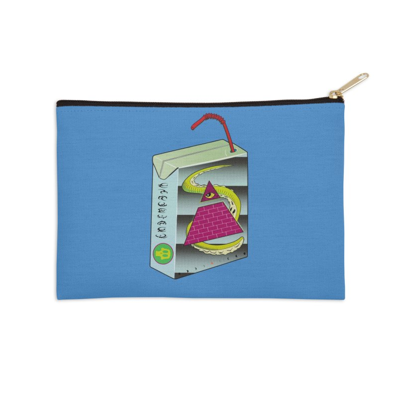 Illuminati Juice Box Accessories Zip Pouch by Mightywombat's Artist Shop