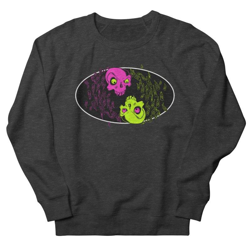 Two skulls (ok, it's a lot of skulls, but 2 big ones) Women's Sweatshirt by mightywombat's Artist Shop