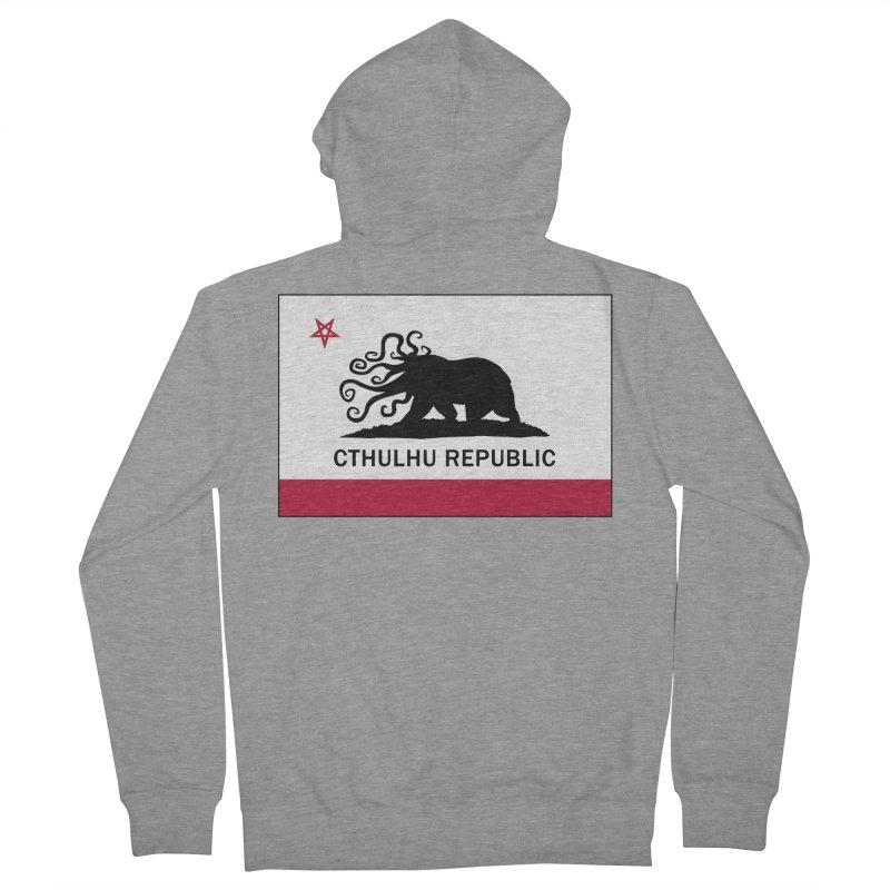Cthulhu Republic Women's Zip-Up Hoody by Mightywombat's Artist Shop