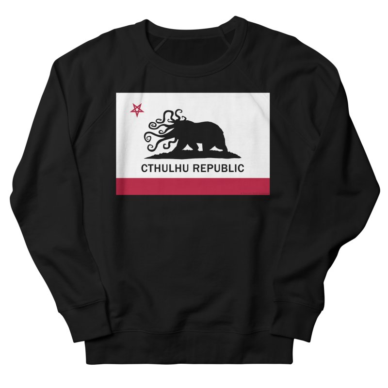 Cthulhu Republic in Men's Sweatshirt Black by mightywombat's Artist Shop
