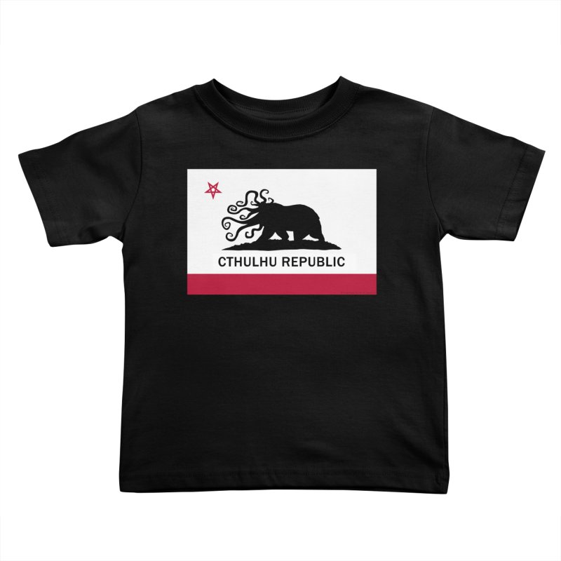 Cthulhu Republic Kids Toddler T-Shirt by Mightywombat's Artist Shop