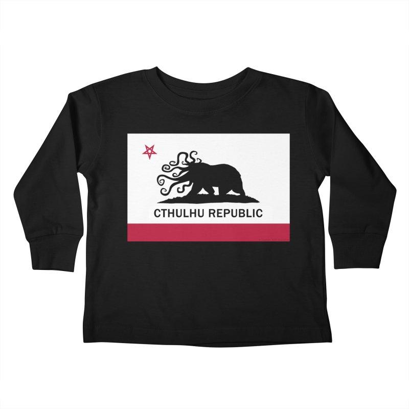 Cthulhu Republic Kids Toddler Longsleeve T-Shirt by Mightywombat's Artist Shop