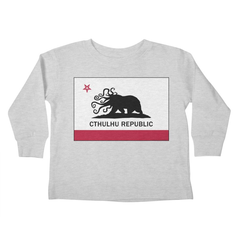 Cthulhu Republic Kids Toddler Longsleeve T-Shirt by Mightywombat's Artist Shop
