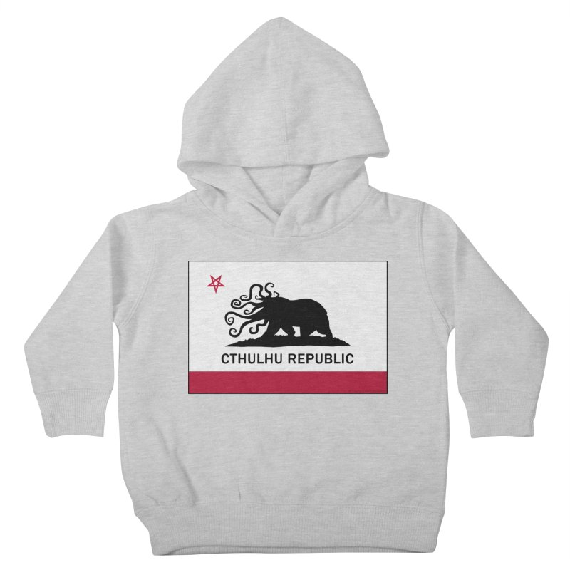 Cthulhu Republic Kids Toddler Pullover Hoody by Mightywombat's Artist Shop