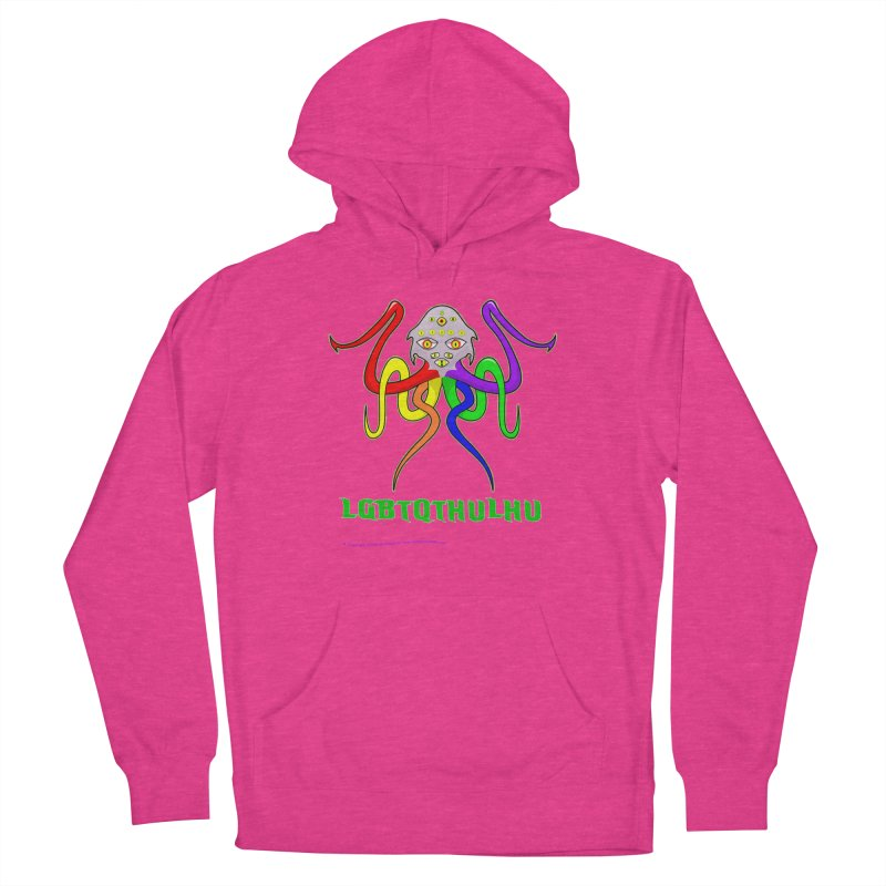 LGBTQTHULHU Men's French Terry Pullover Hoody by Mightywombat's Artist Shop