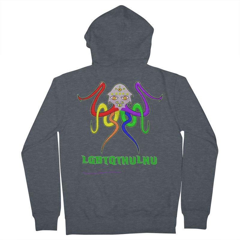 LGBTQTHULHU Women's Zip-Up Hoody by Mightywombat's Artist Shop