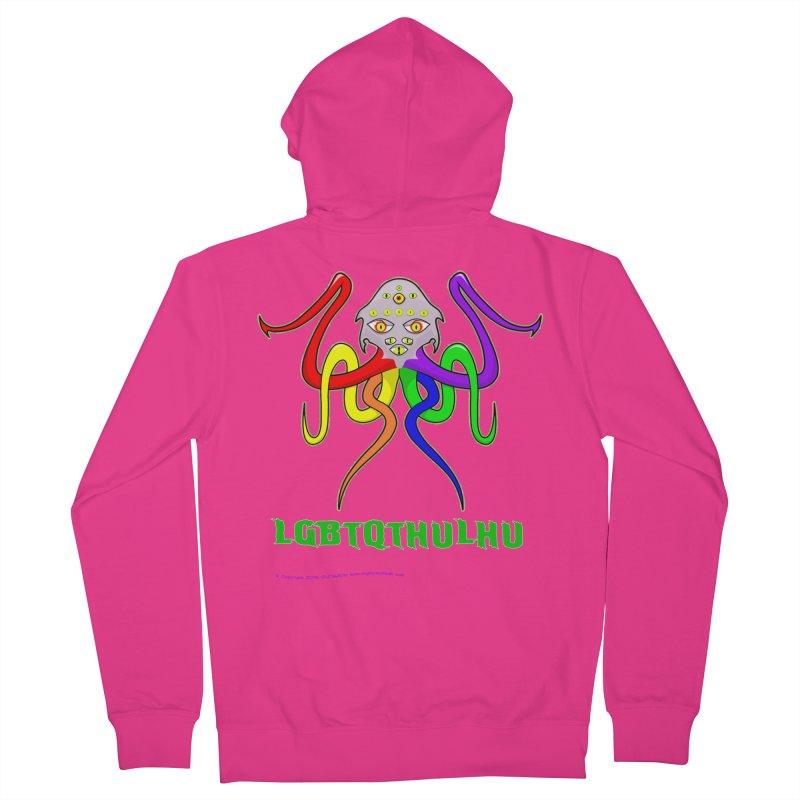 LGBTQTHULHU Men's Zip-Up Hoody by mightywombat's Artist Shop