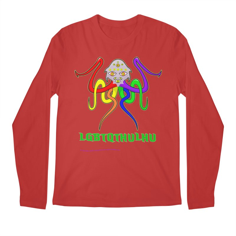 LGBTQTHULHU Men's Longsleeve T-Shirt by Mightywombat's Artist Shop