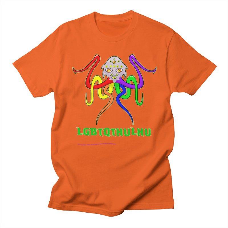 LGBTQTHULHU Men's Regular T-Shirt by Mightywombat's Artist Shop