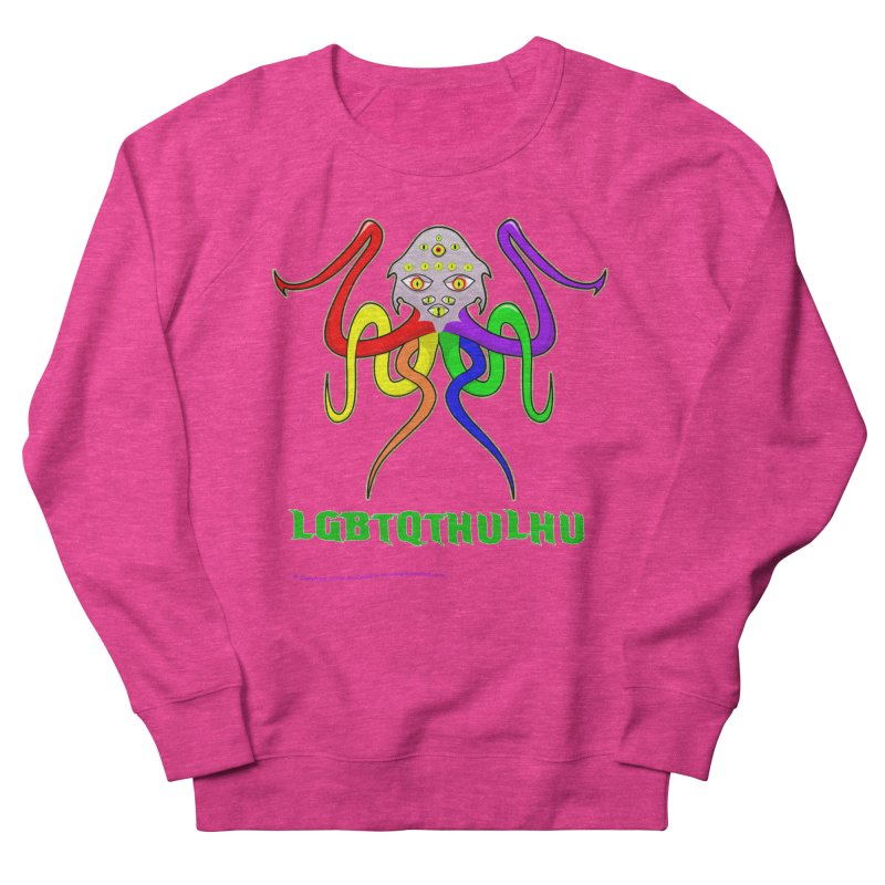 LGBTQTHULHU Men's Sweatshirt by Mightywombat's Artist Shop