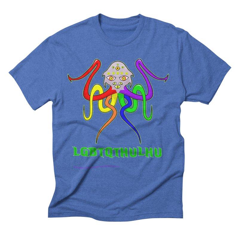 LGBTQTHULHU Men's Triblend T-shirt by mightywombat's Artist Shop