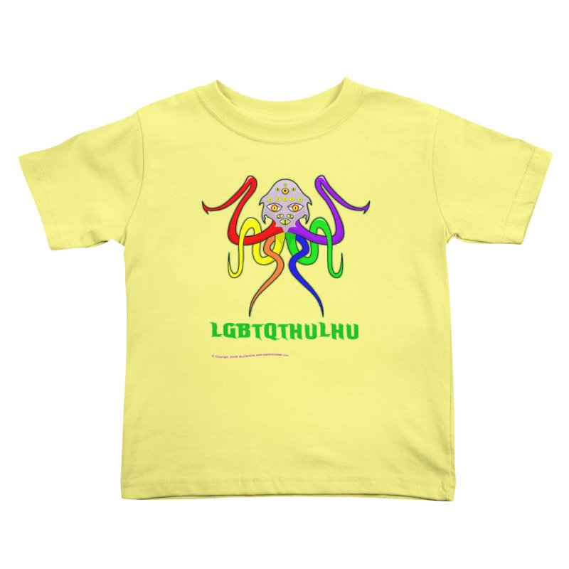 LGBTQTHULHU Kids Toddler T-Shirt by Mightywombat's Artist Shop