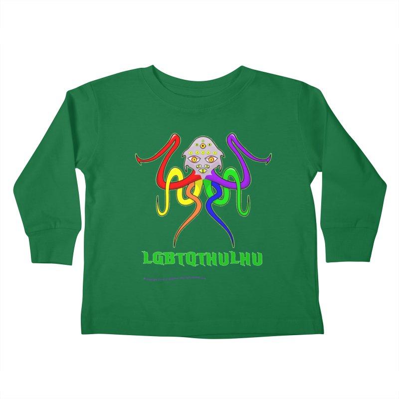 LGBTQTHULHU Kids Toddler Longsleeve T-Shirt by Mightywombat's Artist Shop