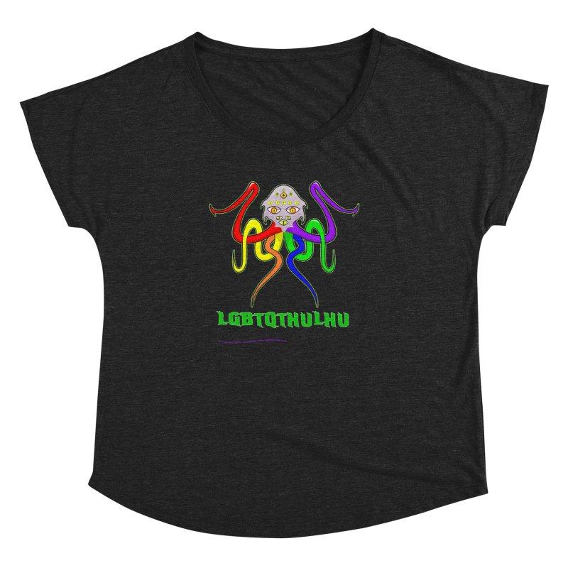LGBTQTHULHU Women's Dolman by Mightywombat's Artist Shop