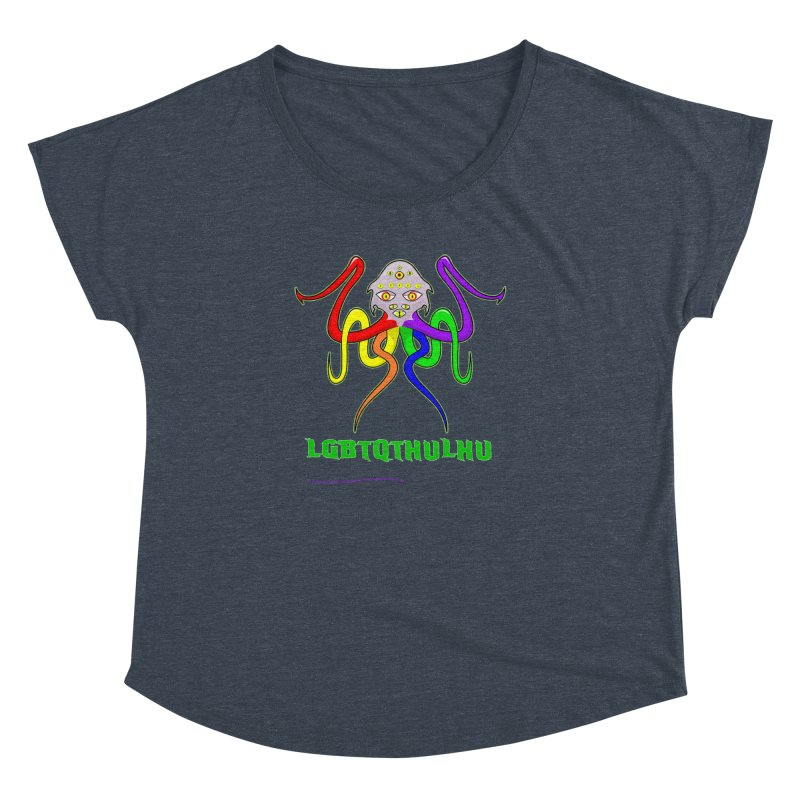 LGBTQTHULHU Women's Dolman by mightywombat's Artist Shop