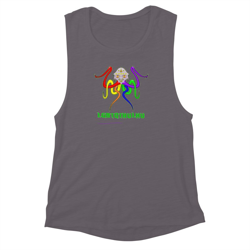 LGBTQTHULHU Women's Muscle Tank by mightywombat's Artist Shop