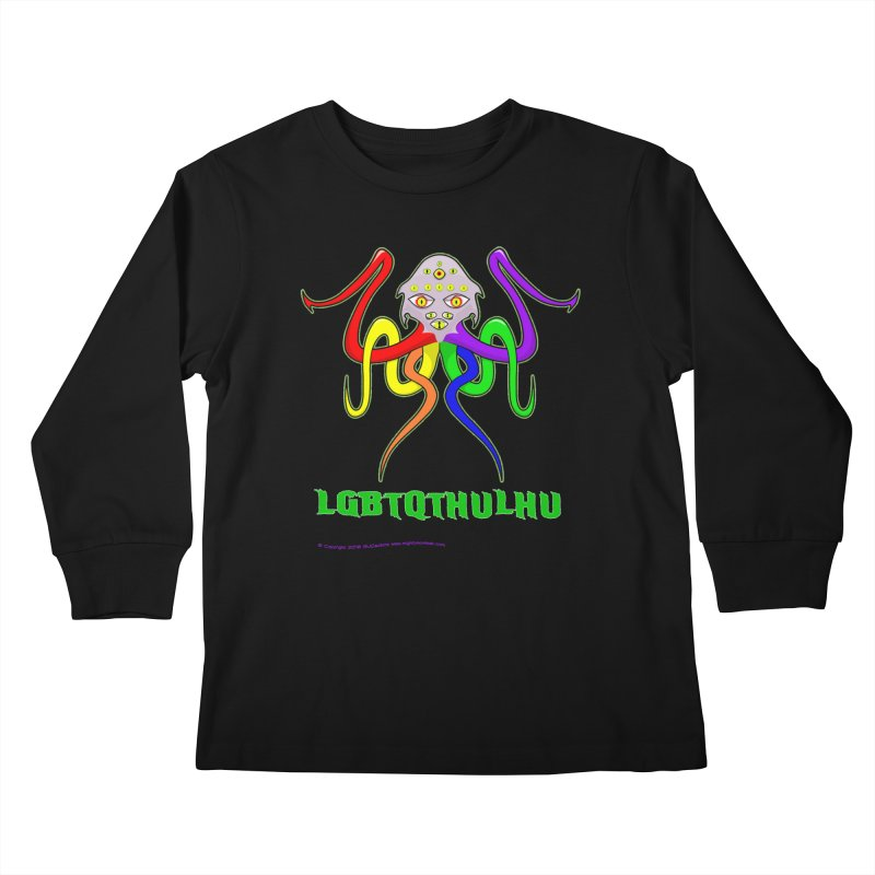 LGBTQTHULHU Kids Longsleeve T-Shirt by Mightywombat's Artist Shop