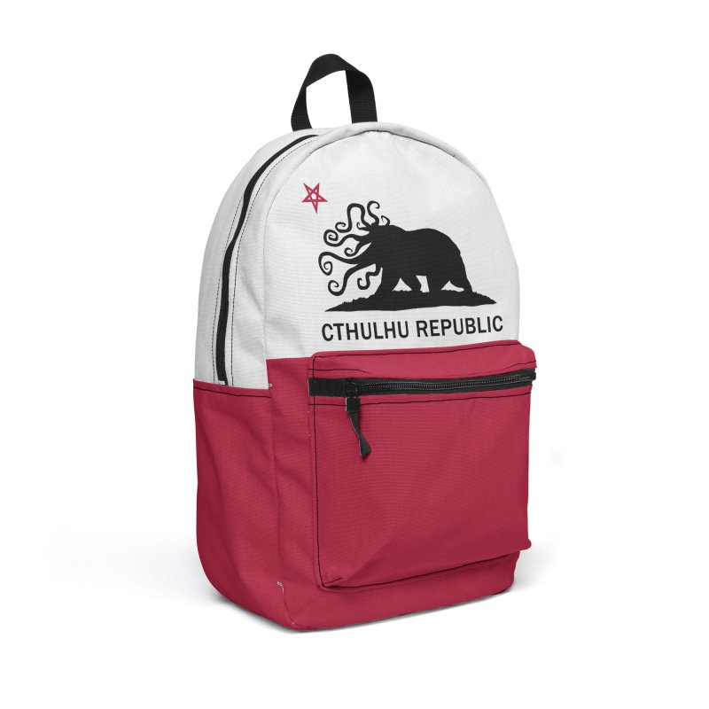 Cthulhu Republic Backpack Accessories Backpack Bag by Mightywombat's Artist Shop