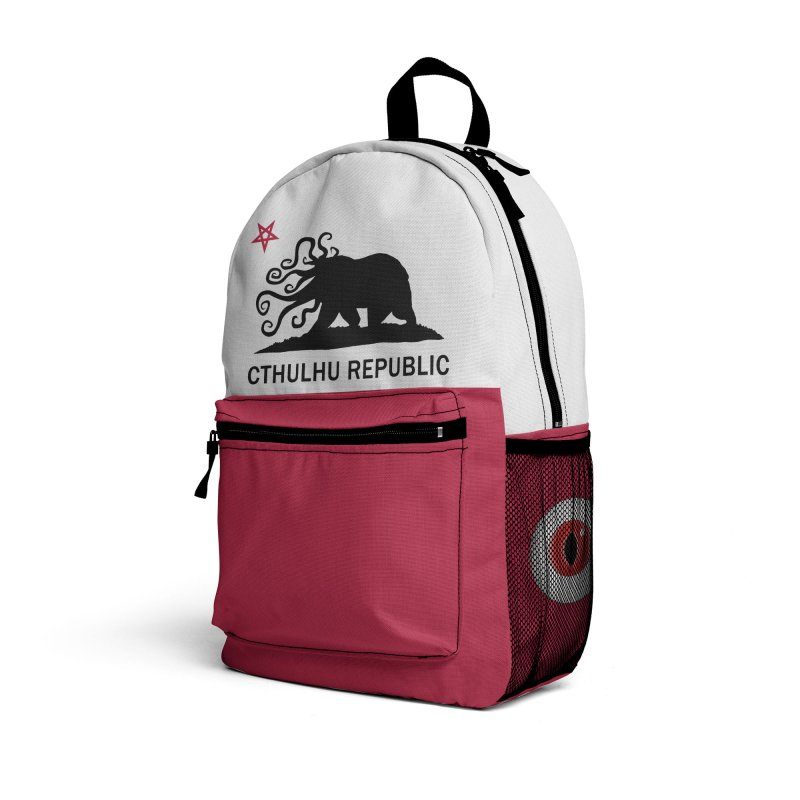 Cthulhu Republic Backpack Accessories Bag by Mightywombat's Artist Shop